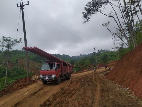 Desa Terdampak Longsor Bogor Belum Teraliri Listrik