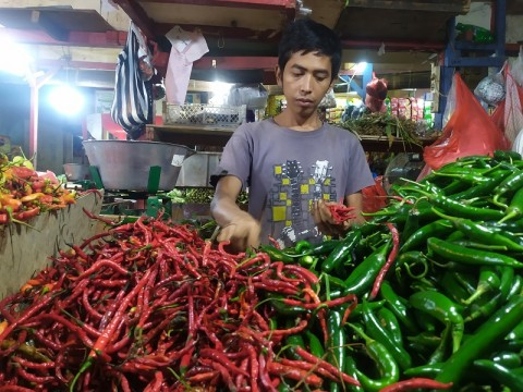 Harga Cabai di Kota Bogor Makin Pedas