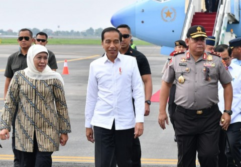 Jokowi to Inspect PT PAL's First Submarine