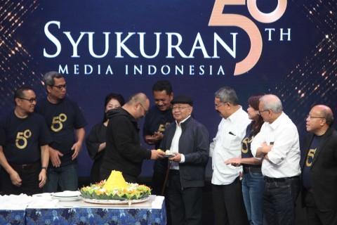 Media Indonesia Rayakan HUT ke-50