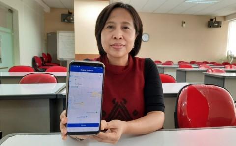 Aplikasi Dosen ITS, Kini Angkot Tak Perlu <i>Ngetem</i>