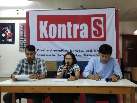 Lima Catatan KontraS Terkait HAM di 100 Hari Jokowi-Ma'ruf