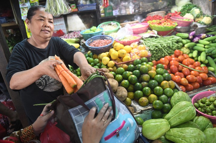 Pasar Tebet Jadi Percontohan Gerakan Bebas Kantong Plastik