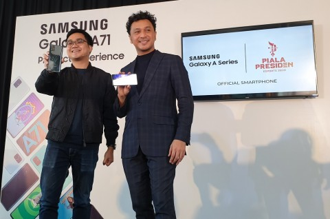 Samsung Jadi Partner Resmi Piala Presiden Esports 2020