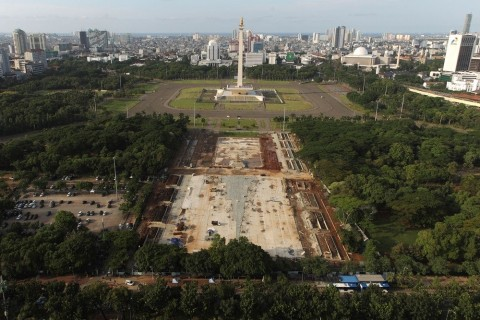 Ketua DPRD DKI Menyesal Anggarkan Revitalisasi Monas