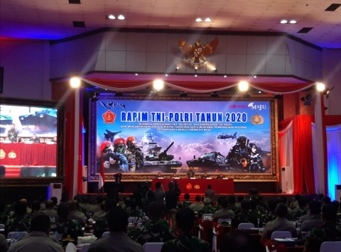 TNI-Polri Sinergi Amankan Pilkada Serentak dan PON 2020