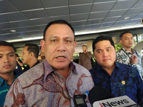Erick Thohir Minta KPK Berantas Koruptor di Kementerian BUMN