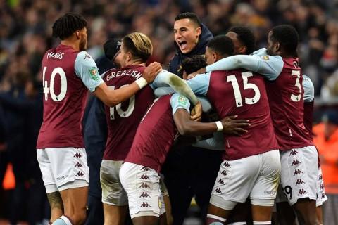 Aston Villa Amankan Tiket Final Piala Liga Inggris