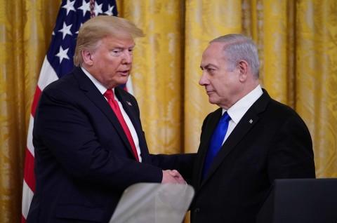 Trump Rilis Rencana Perdamaian Israel-Palestina