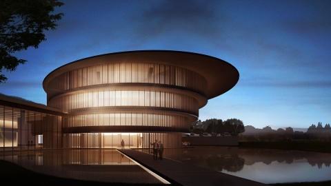 Museum HEM Terinsipirasi Kosmologi Tiongkok Kuno