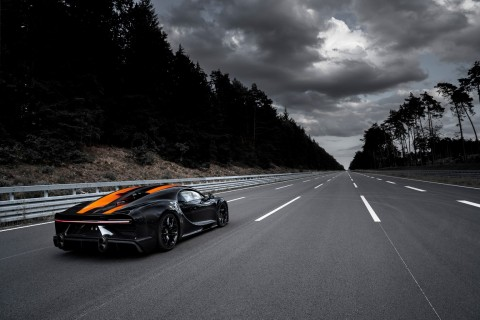 100 Unit Bugatti Chiron Edisi Terakhir Siap Diproduksi