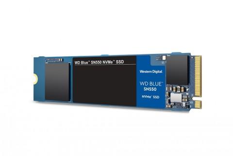 WD Perkenalkan SSD Blue SN550, Targetkan Kreator Konten