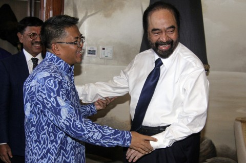 Surya Paloh Terima Kunjungan Presiden PKS