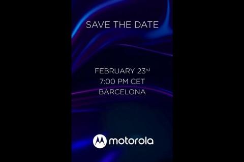 Motorola Umumkan Ponsel Baru pada 23 Februari
