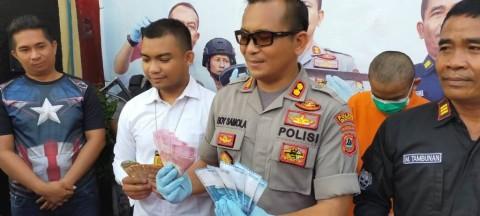 Pengedar Uang Palsu di Gowa Ditangkap