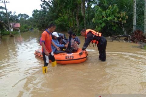 Pemkab Tapanuli Tetapkan Status Tanggap Darurat Banjir