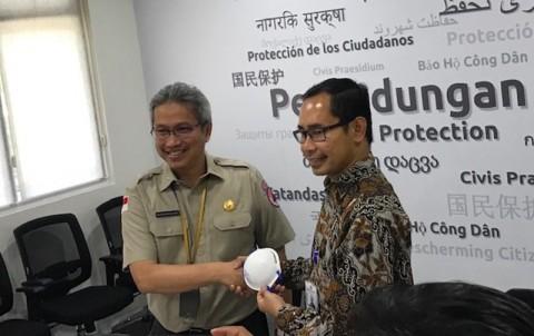 Bantuan Masker N-95 Dikirimkan BNPB dan Kemenlu ke Tiongkok