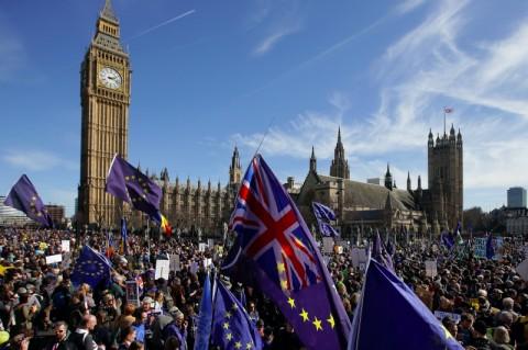 Parlemen Eropa Resmi Dukung Inggris Keluar Uni Eropa