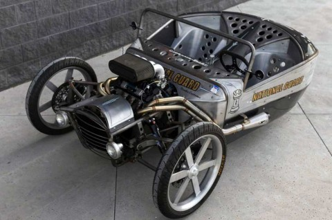 Ubahan Keren Suzuki GSX-R1000R Bergaya Trike ala Jesse Rooke