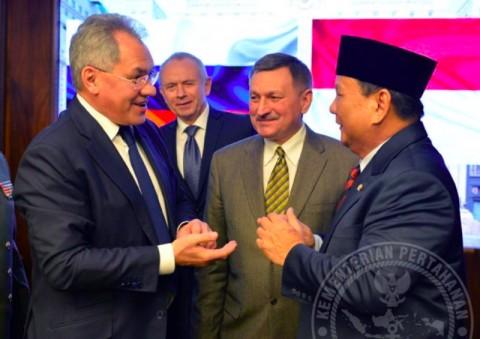 Prabowo Bertemu dengan Menhan Rusia Bahas Keamanan Siber
