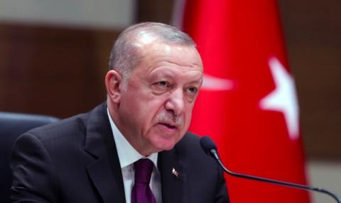 Erdogan Tuduh UEA Biayai Tentara Bayaran untuk Perang di Libya
