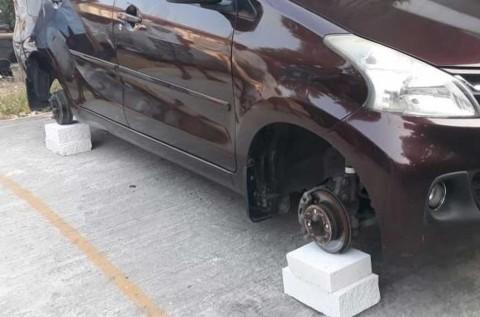 Viral Maling Ban Mobil, Modusnya Komponen Gampang Jual