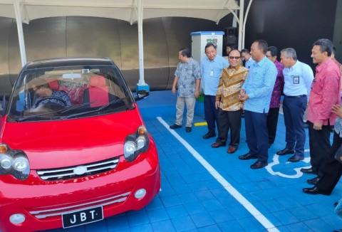 Jalan Tol Bali Mandara Sediakan Layanan SPKLU