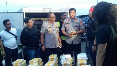 Polda Metro Ungkap Pengiriman 288 Kg Sabu di Tangerang