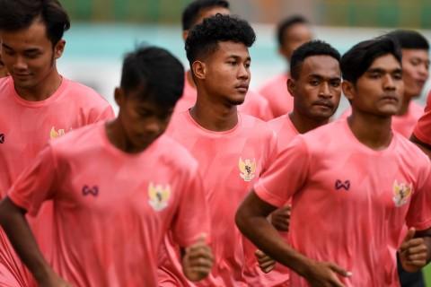 Uji Coba Terakhir di Thailand, Timnas U-19 Masih Genjot Fisik