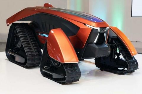 Traktor Listrik Otonom 'Kubota X Tractor AI Robot Concept'