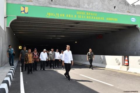 Jokowi Resmikan <i>Underpass</i> Terpanjang di Indonesia