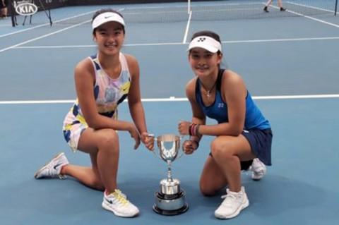 Petenis Junior Indonesia Juara Australia Open 2020