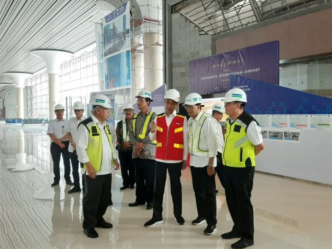Presiden Puas dengan Bandara Internasional Yogyakarta