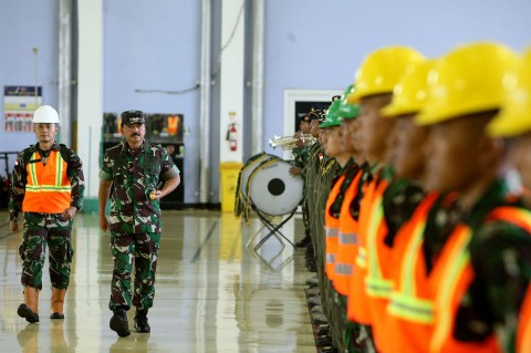 TNI Berangkatkan Satgas Garuda Karhutla ke Australia