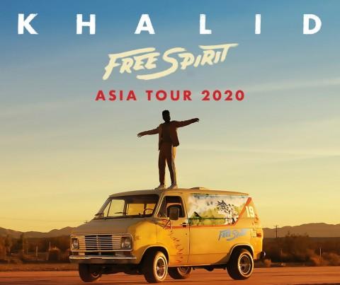 Khalid Kembali Konser di Indonesia Bulan Depan