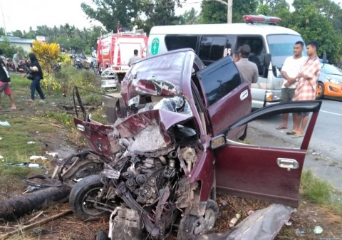 Kecelakaan di Jalan Trans Sulawesi Menewaskan 5 Orang