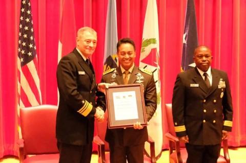 KSAD Terima Medali Kehormatan dari AS