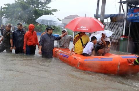 Sejumlah Titik Banjir di Kota Tangerang Surut