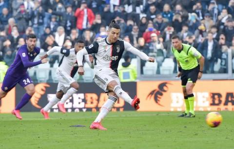 Bungkam Fiorentina, Juventus Perlebar Jarak dari Inter Milan