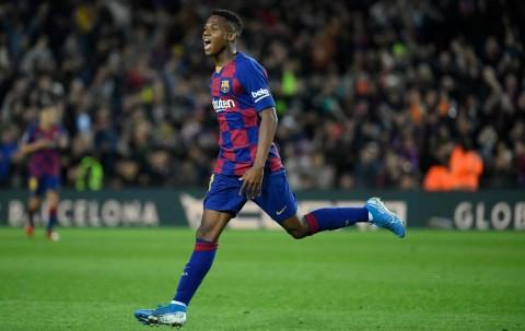 Brace Ansu Fati Bawa Barcelona Tundukkan Levante