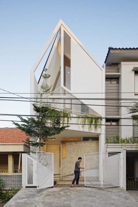 Trow House, Solusi Hunian dengan Lahan Terbatas