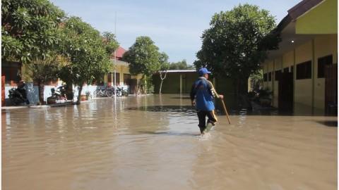 Banjir Rendam Desa Tempuran Mojokerto