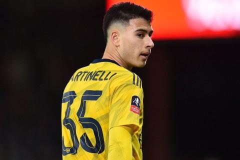 Arsenal Larang Martinelli Bela Brasil