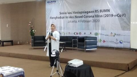 Seluruh RS BUMN Siaga Pasien Infeksi Korona