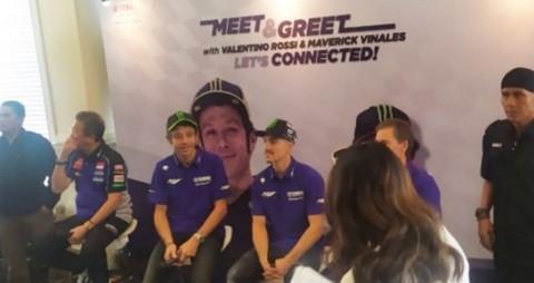Sapa Fans, Valentino Rossi: Aku Tresno Indonesia