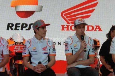 Duo Marquez Bakal Bersaing di Tim Repsol Honda