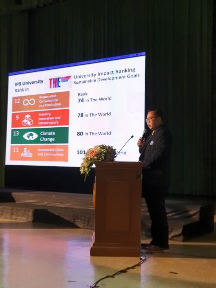 Rektor IPB Pidato di Kasetsart University Bangkok