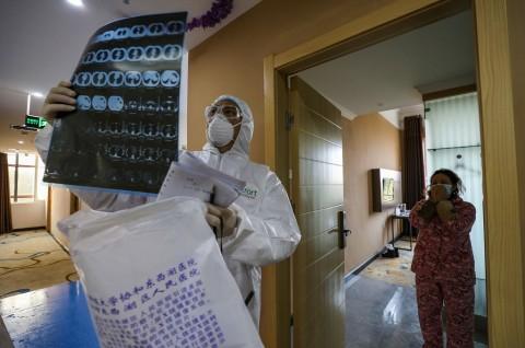 Jumlah Korban Tewas Virus Korona Dekati Angka 500