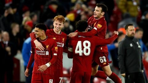 Liverpool Susah Payah Lolos Babak Kelima Piala FA