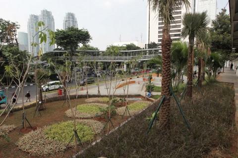 RTH Muara Karang Dijadikan Pusat Kuliner Karena Tak Terawat